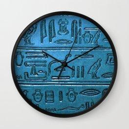 Hieroglyphs 2014-1026 Wall Clock