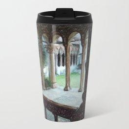 Italian cloister of prayer Travel Mug