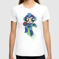 mega man T-shirts featuring Mega Puff Man by Unihorse