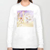 cheshire cat Long Sleeve T-shirts featuring Cheshire Cat by Pavlo Tereshin