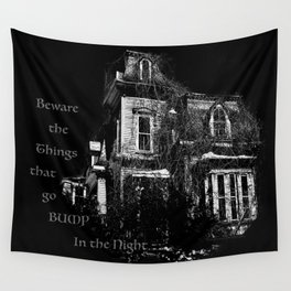 The local creepy house Wall Tapestry