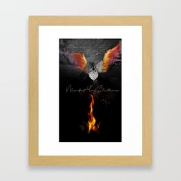 Manifest Your Brilliance Framed Art Print