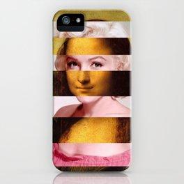 "Leonardo Da Vinci's ""Mona Lisa"" & M.M. iPhone Case"