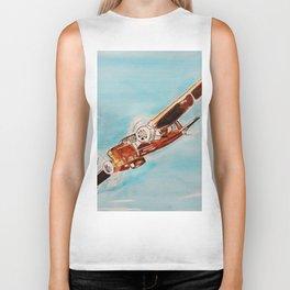Avion blue horizon Biker Tank