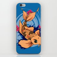 koi fish iPhone & iPod Skins featuring koi fish by Pinkspoisons