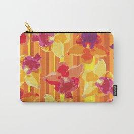 Fluor Flora - Arancio Carry-All Pouch
