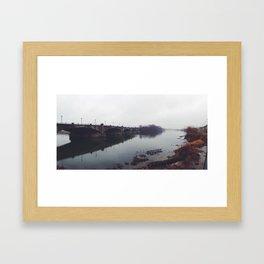 White River Framed Art Print