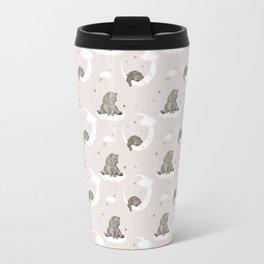 Moonlight teddy bear Travel Mug