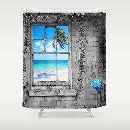 POLARITY Shower Curtain