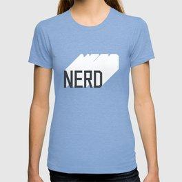 Retro Nerd Blue T-shirt