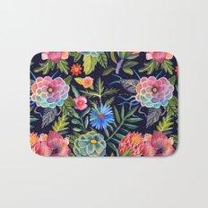 Cosmic Florals Bath Mat