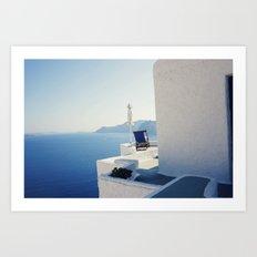 secret paradise Art Print