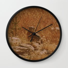 King of the Rock Wall Clock