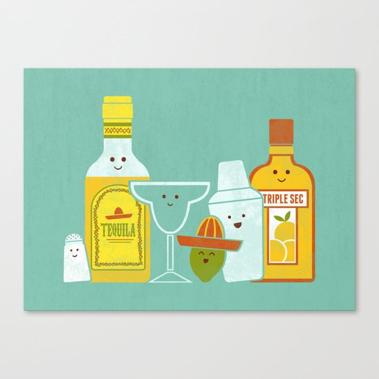 Margarita! Canvas Print