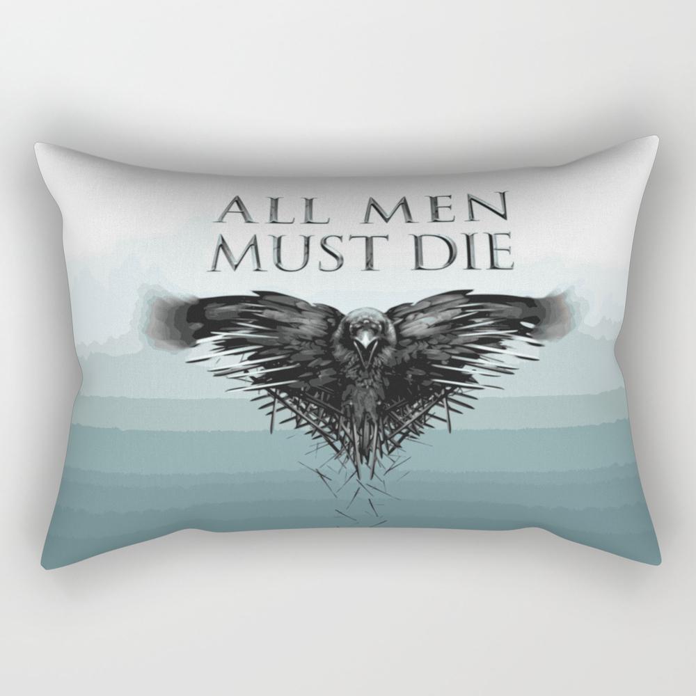 All Men Must Die Rectangular Pillow RPW8735085