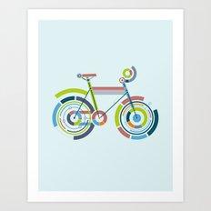 Bicyrcle Art Print