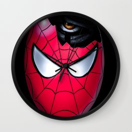 Spider egg Wall Clock