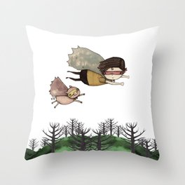 Someone to be super with Throw Pillow