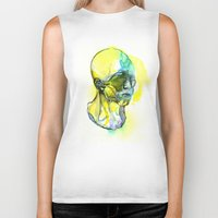 dna Biker Tanks featuring DNA by Chen Li