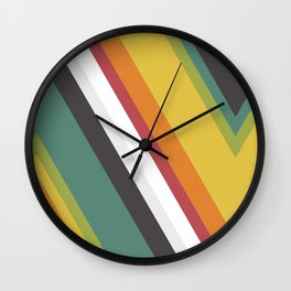 Triangles - Rainbow Dash Wall Clock