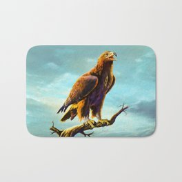 Golden Eagle Bath Mat