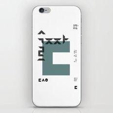 vol.3 nº3 iPhone & iPod Skin