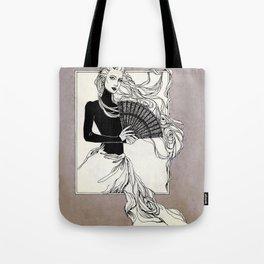 Vintage lady#3 Tote Bag