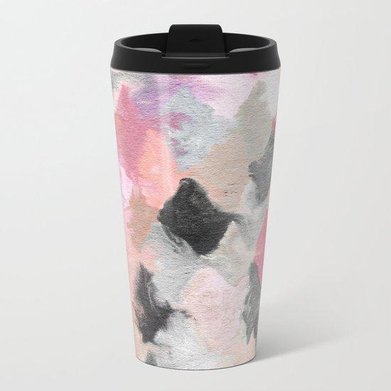 Summer Pastels Metal Travel Mug