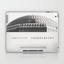 Griffith Observatory - Black and White version Laptop & iPad Skin