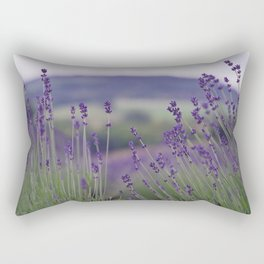 Lavender Fields Forever Rectangular Pillow