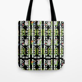 Cute pair of Koalas - Black Tote Bag