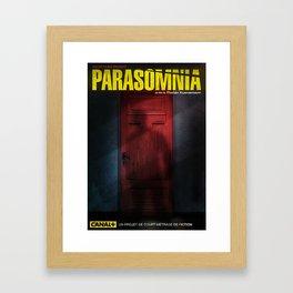 Parasomnia Framed Art Print