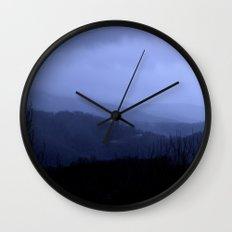 Blue Ridge Mtns Wall Clock