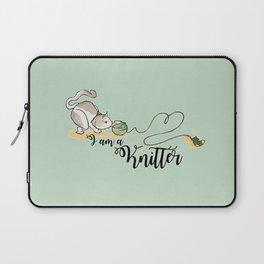 I am a knitter Laptop Sleeve