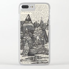 Peak-A-Boo Clear iPhone Case