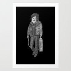 Zombies in my backyard:  No Country for Old Men Art Print