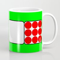 tour de france Mugs featuring Tour de France Jerseys 2 Green by The Learning Curve Photography