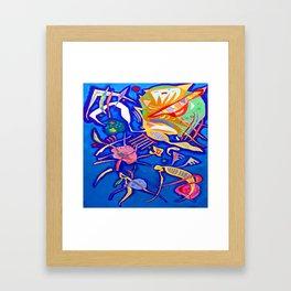 Kandinsky Grouping Framed Art Print