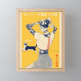 La Tinta! Framed Mini Art Print
