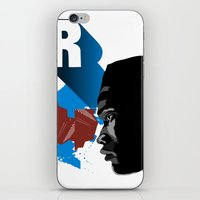 rap iPhone & iPod Skins featuring Rap by David Navascues