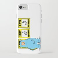 rhino iPhone & iPod Cases featuring rhino by chee weng