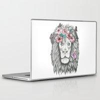 lion king Laptop & iPad Skins featuring Lion King by Sorasoraya