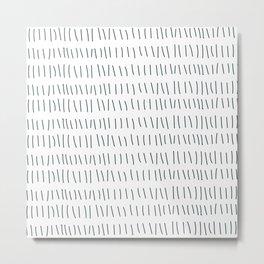 Coit Pattern 20 Metal Print