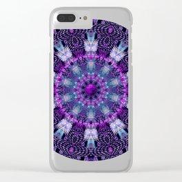 Mandala design t shir Clear iPhone Case