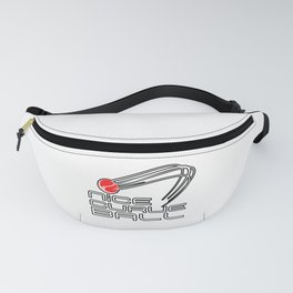 Nice Curve Ball Fanny Pack