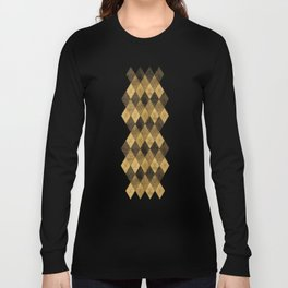 Wooden big diamond Long Sleeve T-shirt