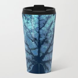 vine leaf autumn Travel Mug