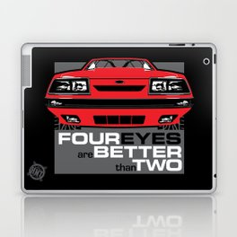 Four Eyes are Better than Two Laptop & iPad Skin