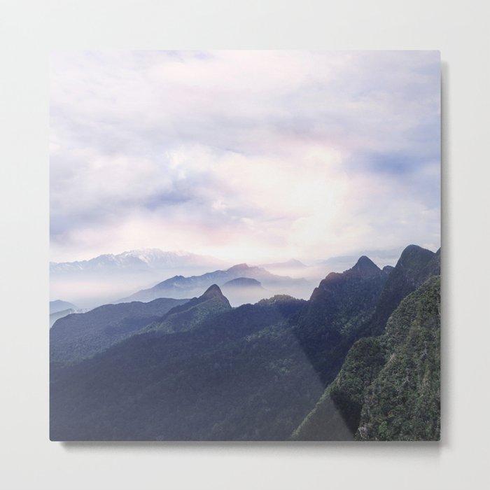Silent sunset II Metal Print