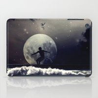 surfer iPad Cases featuring Surfer by Monika Strigel